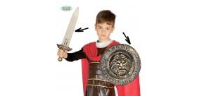 Set Romano Escudo y Espada