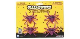 Set 4 Arañas Glitter