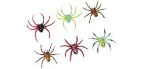 Blister 6 Arañas colores