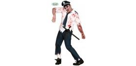 Disfraz Policia Zombie