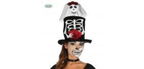 Chistera Esqueleto Mujer