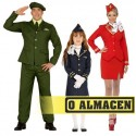 Militar, marinero, aviador, azafata